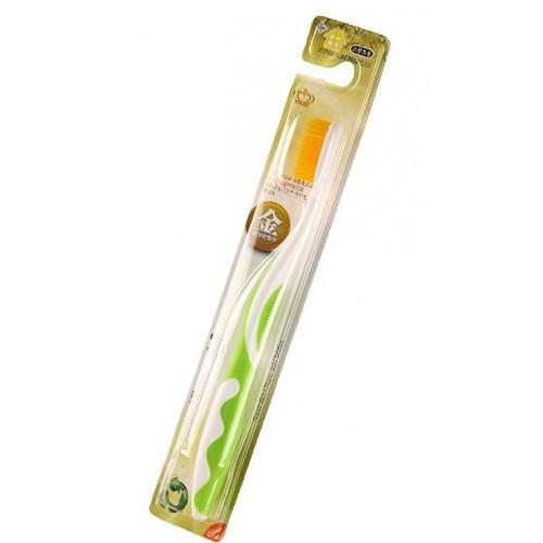 Зубная щетка с ионами золота