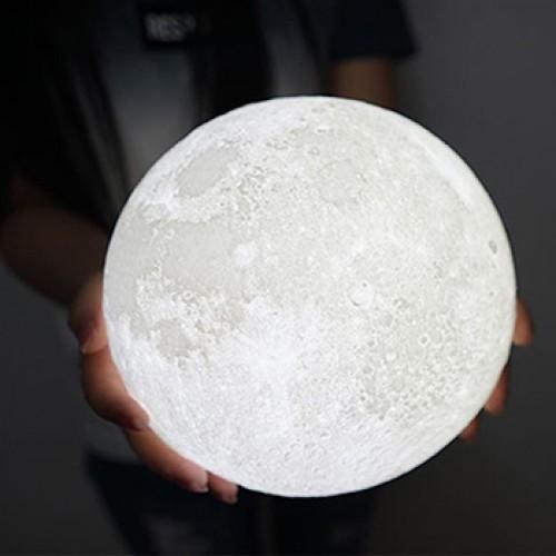 Ночник 3D Луна, 15 см