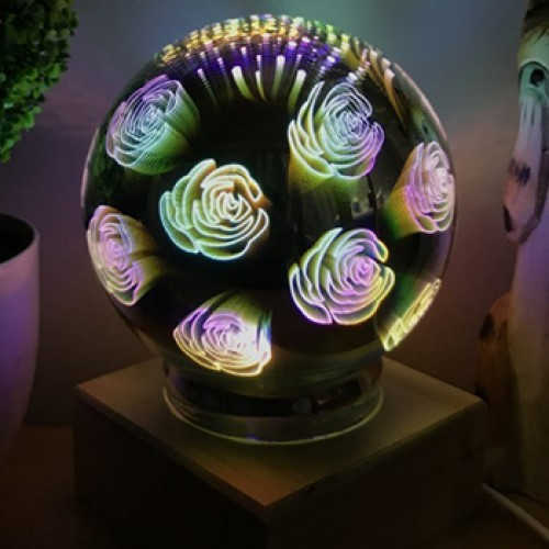 "3D Ночник ""Розы"""