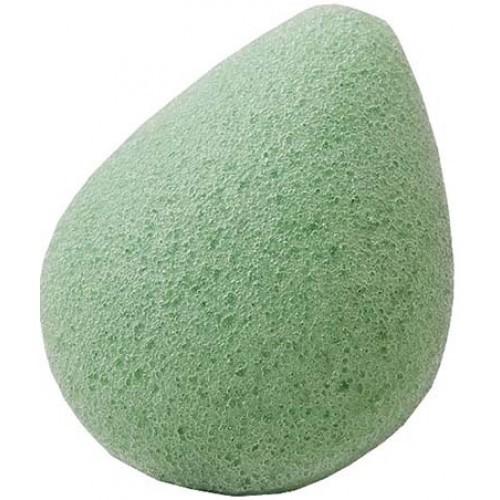 Спонж Конжак для лица Зеленый чай