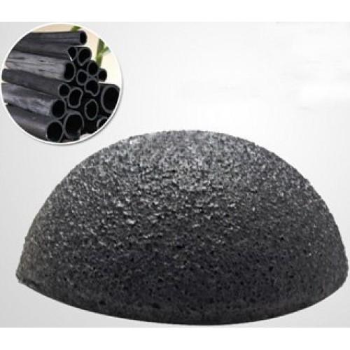 Спонж Конжак для лица Бамбуковый уголь
