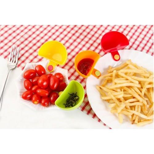 Клипса на тарелку для соуса