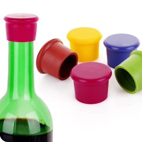 Силиконовая пробка для бутылки