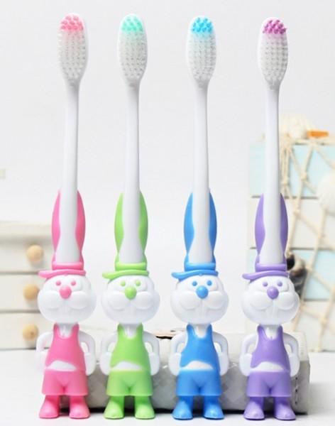 Детская зубная щетка Котик