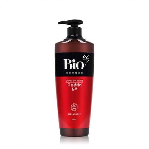 Восстанавливающий шампунь для поврежденных волос Elastine Bio-therapy Damaged Hair Care Shampoo