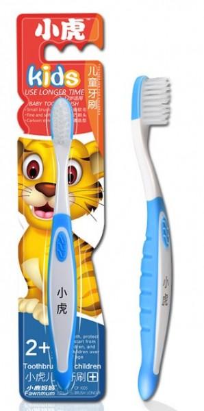 Детская зубная нано щетка Тигр