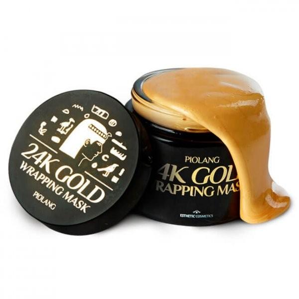 Золотая маска для лица Piolang 24K Gold Wrapping Mask, 80 мл