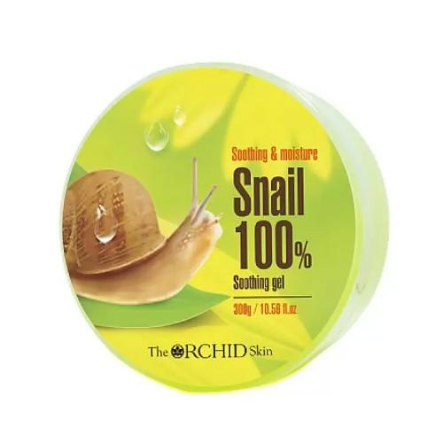 Универсальный гель для лица и тела с экстрактом улиточного муцина The Orchid Skin Snail Soothing Gel, 300 г