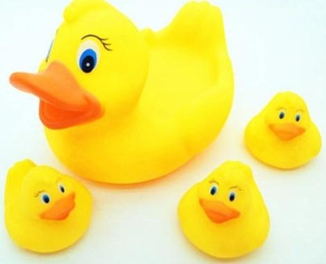 """Игрушки для купания """"Мама и детки"""" Уточки"""