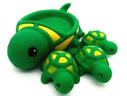 """Игрушки для купания """"Мама и детки"""" Черепашки"""