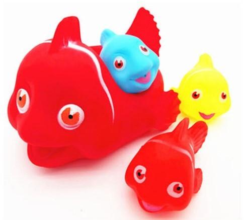 "Игрушки для купания ""Мама и детки"" Рыбки"