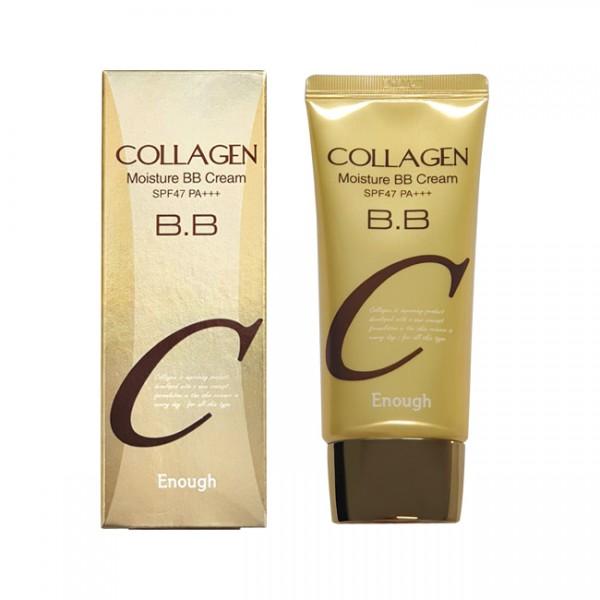 Увлажняющий BB крем с коллагеном Enough Collagen Moisture BB Cream SPF47 PA+++, 50 мл