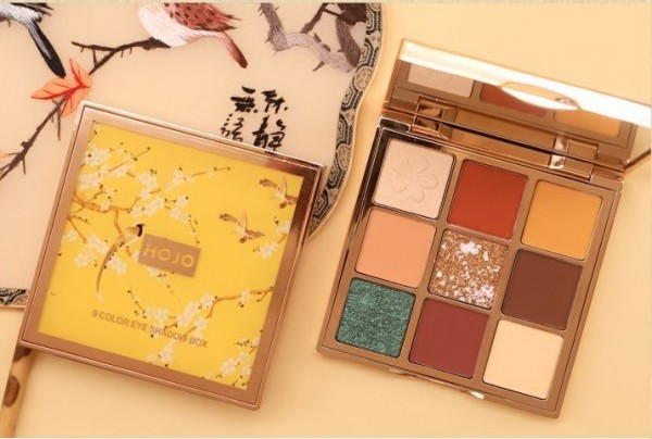 Палетка теней HOJO 9 color eye shadow box 8043-2