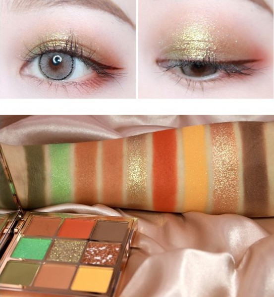 Палетка теней HOJO 9 color eye shadow box 8043-3