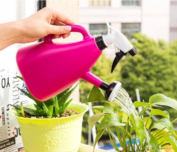 Лейка для цветов с распылителем
