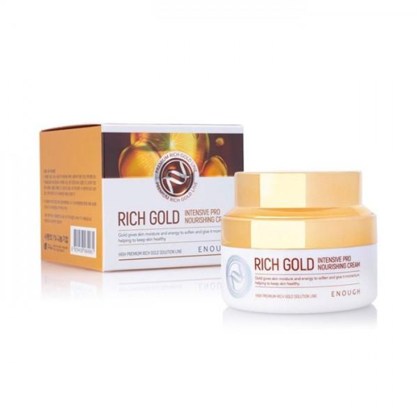 Enough Rich Gold Intensive Pro Nourishing Cream Питательный крем с золотом, 50 мл