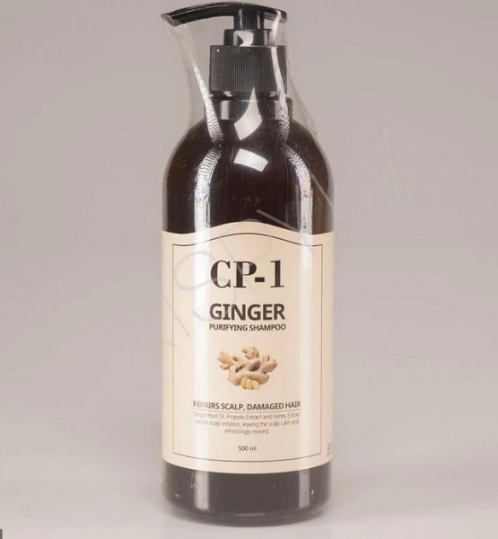 Esthetic House CP-1 Ginger Purifying Shampoo Очищающий шампунь с имбирем, 500 мл