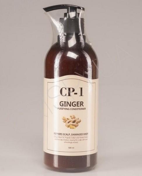Esthetic House CP-1 Ginger Purifying Conditioner Кондиционер для поврежденных волос с имбирем, 500 мл