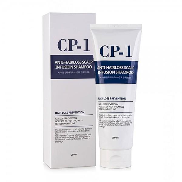 Esthetic House CP-1 Anti-hair Loss Scalp Infusion Shampoo Шампунь против выпадения волос, 250 мл