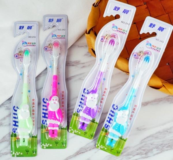 Детская зубная нано щетка Новогодняя