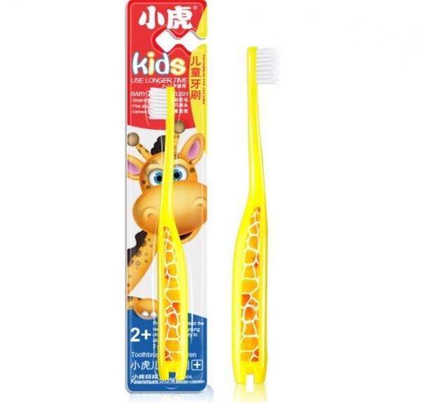 Детская зубная нано щетка Жираф