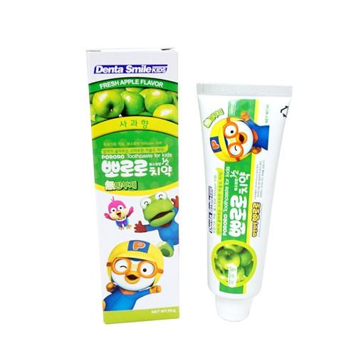 Детская зубная паста с ароматом яблока Pororo Toothpaste For Kids Apple, 80 мл