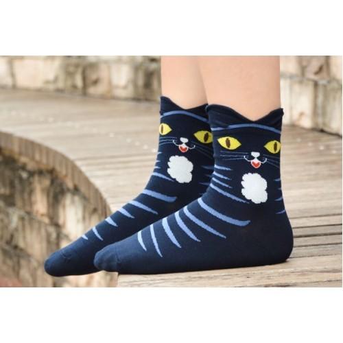 Носки женские Кошка, р-р 36-39