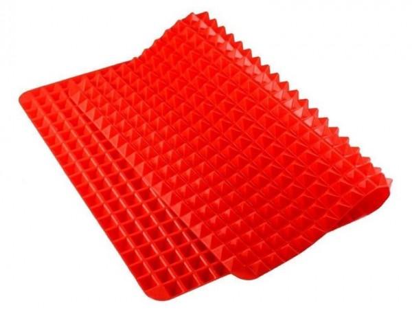 """Силиконовый коврик для выпечки """"Пирамидки"""", 40*29 см"""