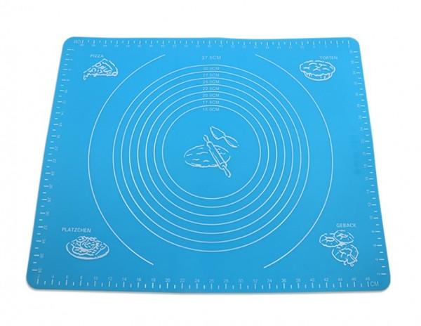 Силиконовый коврик для раскатки теста, 50*40 см