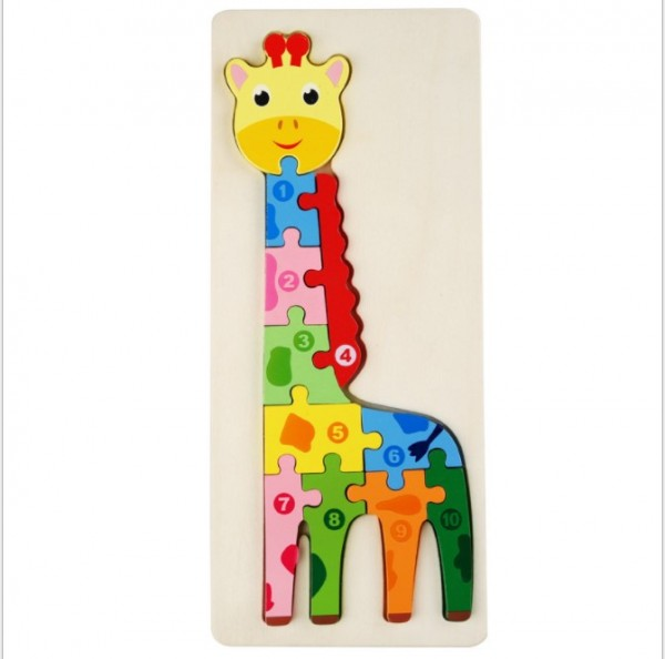 Детский 3D пазл Жираф