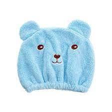 "Шапка-полотенце для сушки волос ""Медведь"""