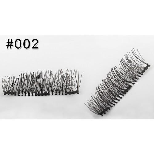 Магнитные ресницы 3-го поколения (3 магнита) № 003