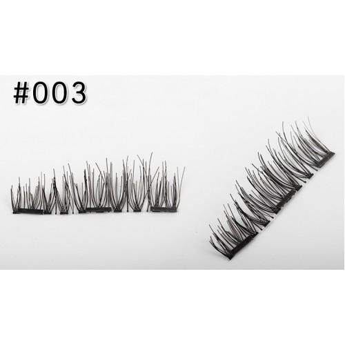 Магнитные ресницы 3-го поколения (3 магнита) № 004
