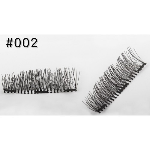 Магнитные ресницы 3-го поколения (3 магнита) № 001