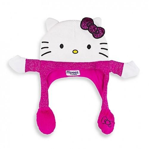 """!!!__""""Живая"""" шапка Hello Kitty"""