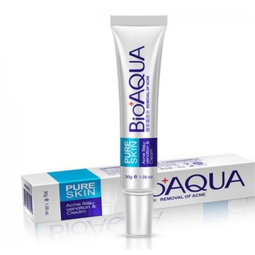 Точечный крем от акне Bioaqua Pure Skin, 30 мл