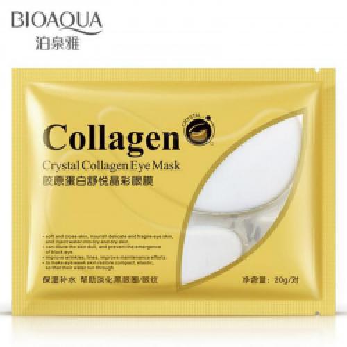 Патчи для глаз BioAqua Crystal Collagen Eye Mask