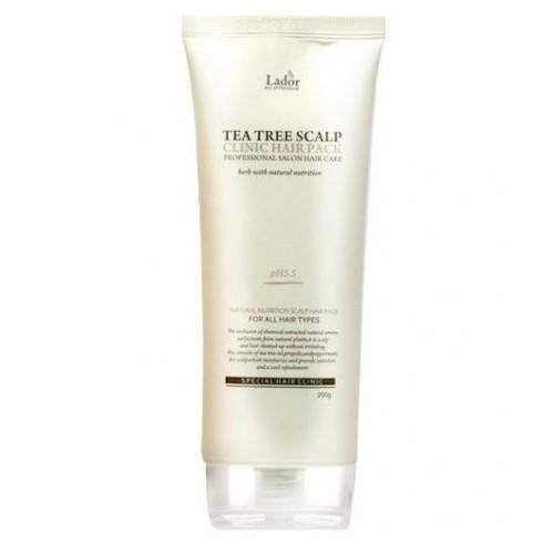 Маска для лечения кожи головы Lador Tea Tree Scalp Hair Pack, 200 гр