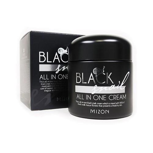 Крем для лица Mizon BLACK SNAIL ALL IN ONE CREAM, 75 мл