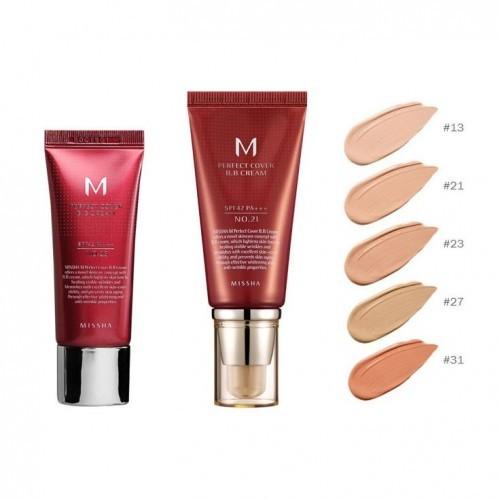 ВВ крем MISSHA M Perfect Cover BB Cream (No.21), 20 мл
